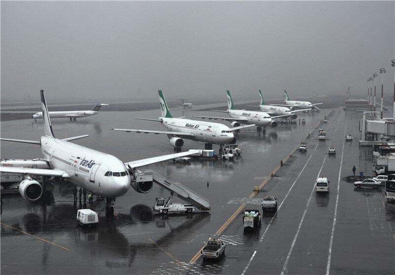 پروازهای فرودگاه مشهد مجددا متوقف شد