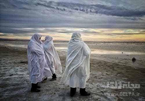 ورزنه، شهر زنان چادرسفید